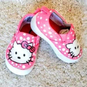 Other - Hand Painted Hello Kitty Shoes